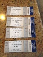 AC/DC tickets September 8th @ Ford Field