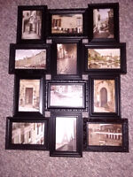 12-photo picture collage frame for 4x6 photos