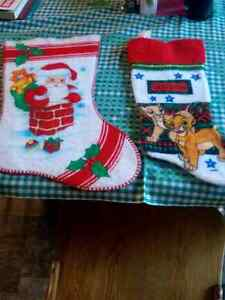 TWO CHRISTMAS STOCKINGS Regina Regina Area image 1