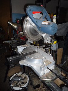 sliding chop saw on stand