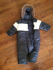 6-12 Month 1 Piece Snowsuit