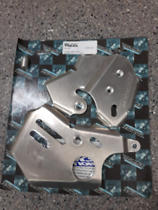 Works Connection Frame Guards - KX250F