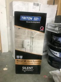 Triton silent running power shower