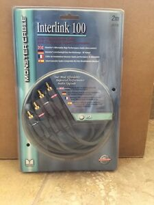 Monster Cable Interlink 100 RCA audio cable