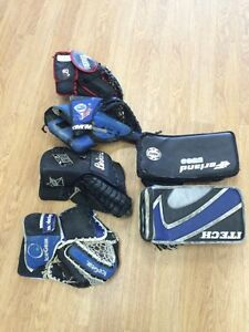 Used hockey equipment for sale