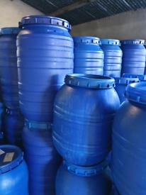 Food grade plastic barrels / casks
