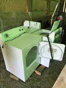 Gas Dryer, Electric Dryer and Washer