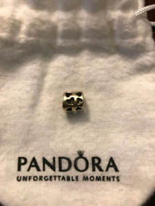 Pandora 14k gold charm - tunnel of love