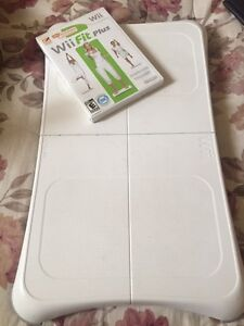 Wii fit and board