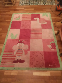 Girls' room rug