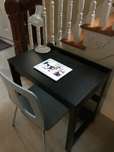 MODERN CHAIR AND IKEA DESK