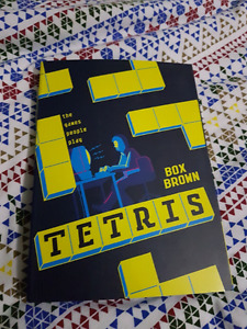 Tetris: The Games People Play graphic novel comic by Box Brown