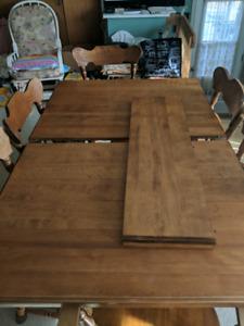 Table en érable de bonne qualité négociable