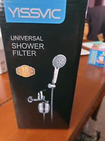 universal shower filter brand new reduced!!