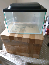 Small tank with lid