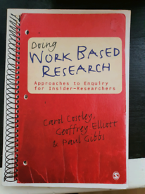 Work based Research