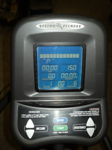 Vision Fitness X6150 Incline Elliptical Trainer