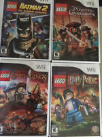 Lego games for Wii $10 each or all for $30- in Vernon
