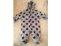 Baby Boy Snow Suit from Next - 0-3 Months