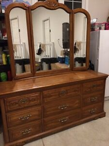 Solid Oak Canadian made Dressers