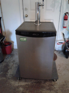 Kegerator for home brew beer