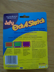 Brand new sealed Etch a sketch game keychain mini size London Ontario image 2