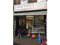 Running Grocery/Butcher shop to Let in high road Leyton
