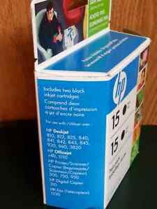 HP printer ink cartridge.. only one left in package.