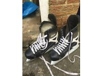 Mens Black and white ice skates for sale