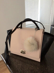 Kate Spade Bag - mint condition - pink and black