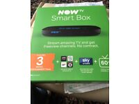 Now smart box brand new with 3 months entertainment pass*****