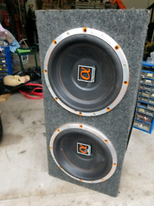 12 inch subwoofers  ** ALPHASONIK**