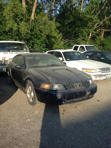 PARTS: 2001 Ford Mustang Coupe (2 door)