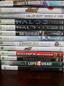 For Sale: 13 Games for the XBOX360