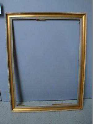 RS0817-235: Rahmen Holz vergoldet wohl 50er
