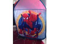 Spider-man tent