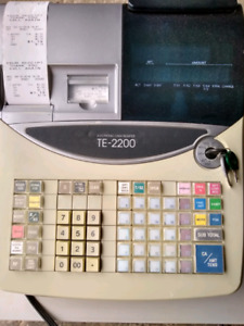 Casio TE-2200 Electronic Cash Register