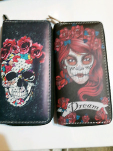 all new pu leather and leather wallets