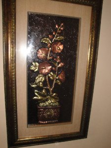 2 FLOWER PORTRAITS ART MINT CONDITION A MUST SEE $100 EACH
