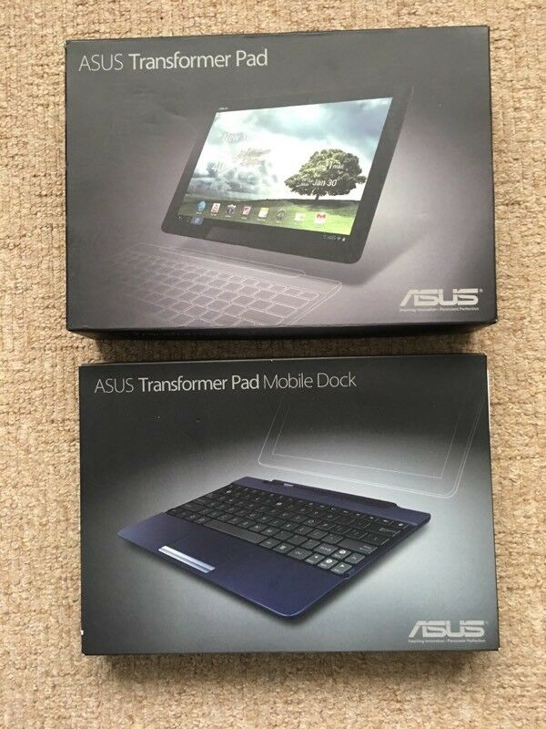 ASUS Transformer Pad (TF300T) and docking station