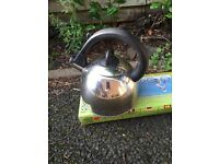 Gas camping kettle