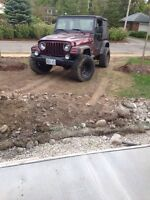 2004 Jeep TJ Wrangler 5 speed manual. Tons of upgrades