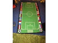 Football play rug