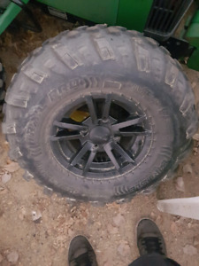 Arctic cat wheels and tires