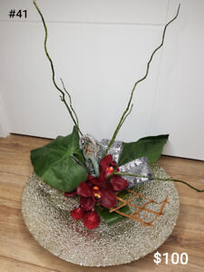 Christmas Artificial Floral Arrangements