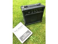 Guitar practise amplifier amp