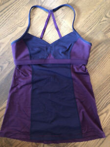Lululemon Bend and Flow Tank- Size 6