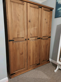 *Reserved awaiting pick-up* Triple wardrobe £50