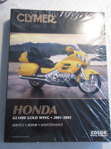 Clymer NEW service Manual Gold Wing