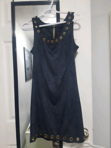 Navy Blue Guess Dress (Size 6) from The Bay
